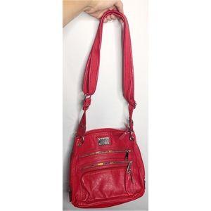 Red Tyler rodan cross body bag purse
